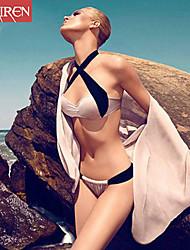 Bikinis ( Nylon/Autres ) Push-up/Soutien-gorge Rembourré/Soutien-gorge à Armatures - Licou pour Femme
