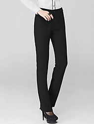 Women's Bodycon/Work OL Style Trousers Suit Pants (Polyester)