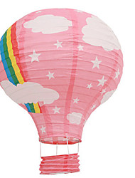 It's Girl Pink Lantern Decoration for Baby Shower (30cm)