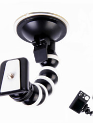 360 Degree Rotary Monopod Octopus Suction Cup Mount for Camera / GPS / DV