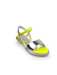 Shepherdess European Grand Prix 2015 new authentic yellow leather shoes with non-slip flat open toe casual flat sandals