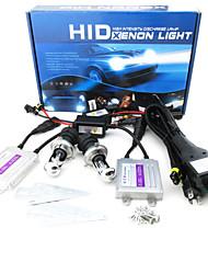 MINGEN®Short Circuit Protection Quick Start H4 Telescopic Section HID Xenon Light Suit AC 35W 4300K