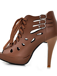 Lobo Gladiator Women's Shoes Stiletto Heel High Sandals
