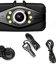 Car DVR L8000F HD 1080P Touch screen H.264 Wide Angl Night Vision 6pcs LED Rearview Support 32GB TF Card
