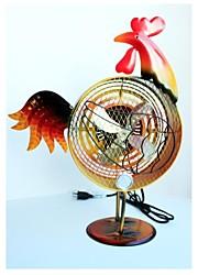 pintado himalayan fan gallo decorativo hierro esculpido a mano