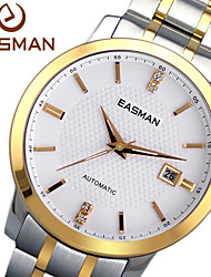 EASMAN Men Watch Business Luxury Brand Gloden Automatic Mechanical Watches Sapphire Wristwatches