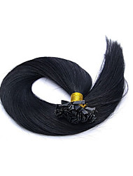 "300g/pc Brazilian Human Hair Flat Tip Hair Extension Straight Hair 1g/strand,100g/pc 18""-28""are In Stock"