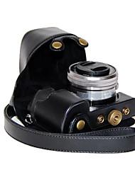 dengpin pu leren camera case tas hoes voor sony ilce-6000L ilce-6000 A6000 met 16-50mm lens (verschillende kleuren)