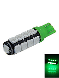 1X Green T10 17 SMD 5050 LED Car Clearance Reading Lamp Side Light DC 12V A014
