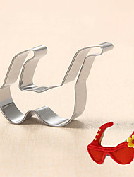 Fashion Sunglasses Shape Cookie Cutters Fruit Cut Molds Stainless Steel