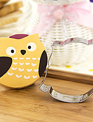 Cartoon Owl Shape Cookie Cutters  Fruit Cut Molds Stainless Steel