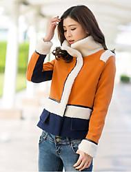 Women's Lamb Spell Woolen Short Wool Coat