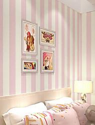 novo arco-íris ™ stripe papel de parede contemporânea não-tecido papel de parede especial cobrindo a arte de não-tecidos da parede da tela