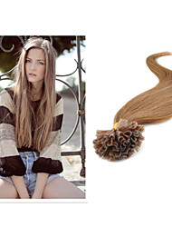 """1PC/lot 1g/strand 100g/pc U-Tip Hair Extension Brazilian Human Hair 18""""-30"""" Straight Hair All Color In Stock"""