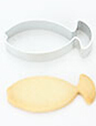 Fish Shaped Durable Steel Cake Cookie Cutters Bread Biscuit DIY Mold Decorating Tool