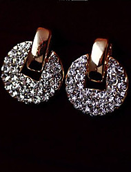 JUJAWomen's Elegant All Match Diamond  Earrings