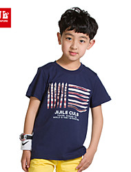 JJL Children's wear boy's leisure cotton T-shirt in the summer of 2015 the new