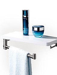 CRW Contemporary Painting Wall Mounted Towel Bars/Bathroom Shelves with Towel Bar
