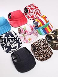 Pet Baseball Cap Four Seasons Wear Dog Cat Sun Hat