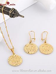 Niedlich/Business/Freizeit - Damen - Halsketten/Ohrringe (vergoldet)