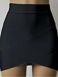Women's Blue/Pink/White/Black Skirts , Sexy Mini