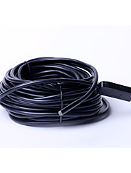 5,5 mm Drahtdurchmesser und Staub die Gesamtlänge von 15 m wasserdichte Kamera, USB-Industrie-Endoskop