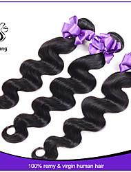 7a corpo onda cabelo virgem malaio 3pcs lote 100% não transformados extensões de cabelo virgem cabelo humano tecer pacotes nenhum