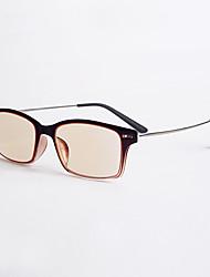 [livres] lentes dos homens caminhadas full-jante óculos de leitura anti-radiação