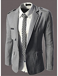 What lees Men's Casual/Formal Pure Long Sleeve Regular Blazer