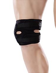 Ollas Unisex Outdoor Exercise Black Nylon Professional Kneecap Protector/Neoprene Waist Protective Gear Free Size S9401