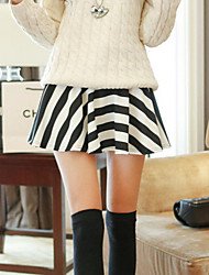 Women's Multi-color Skirts , Cute/Party Mini