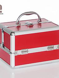 Handcee® Best Seller Metallic  Proffessional Cosmetic Bag Minaudiere