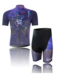 Digital Cycling Wear Short Sleeved Suit, Moisture Cycling Wear, Motor Function Material