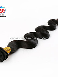 """18 """"di trama naturale e confortevole remy indiana dei capelli umani dell'onda del corpo di prezzi di fabbrica di qualità superiore"""