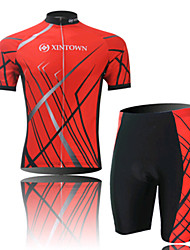 Black SPEED Cycling Wear Short Sleeved Suit, Moisture Cycling Wear, Motor Function Material