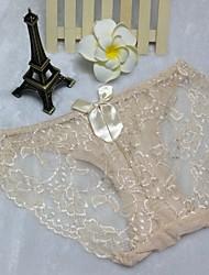 Femme Jacquard G-strings & Tangas / Sous-vêtements Ultra SexyPolyester / Coton / Dentelle / Nylon