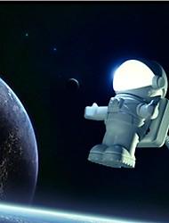 neue arrvial usb Astronauten / in niedlichen Astronaut pc-Lampe LED-Nachtlicht Notlicht