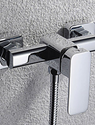 Shengbaier Contemporary Solid Brass Tub Faucet (without Hand Shower)