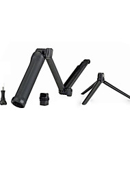 Gopro Accessories Telescopic Pole / 3-Way Adjustable Pivot Arm / Tripod / Hand Grips/Finger Grooves / Mount/Holder Foldable, For-Action