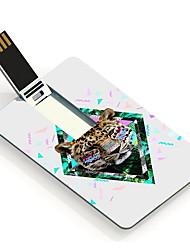 64GB den Leoparden Design-Karte USB-Stick