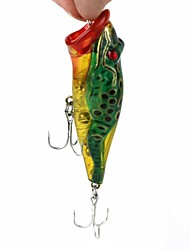 Lure Fishing The Built-in Steel Ball Vibration Frog Bionic Bait