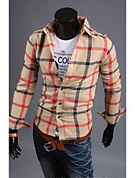 Hot Sell Summer Style 2015 Brand Long-Sleeve Shirt Men Clothes Shirt For Men