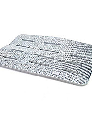 Kitchen Aluminium Foiled Sink Drain Pad Anti-skid Antibacterial Shockproof Filter Pad