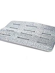 Küche Aluminium vereitelten Spüle Drain-Pad Anti-Rutsch-antibakteriell stoßfest Filtermatte