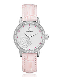 Women's Blooming Rose  Fashion Watch Cool Watches Unique Watches