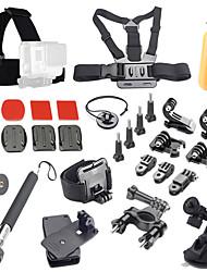 Sports de plein air caméra kit d'accessoires 30-en-1 pour GoPro Hero 4 / 3+ / 3/2/1