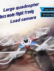 nihui U807 Drohne 2.4G 4CH 6-Achsen-Kreiselkompass-RC Quadcopter 360-Grad-Eversion mit LED-Leuchten