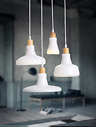 MAISHANG® Creative Characteristic 4 Light Pendant with Iron Shade