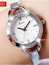 Mulheres Relógio de Moda Quartzo Japonês Lega Banda marca-