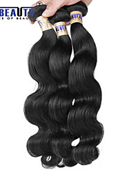 "1 Pc /Lot 12""-30""6A Malaysian Virgin Hair Body Wave Human Hair Wefts 100% Unprocessed Malaysian Remy Hair Weaves"